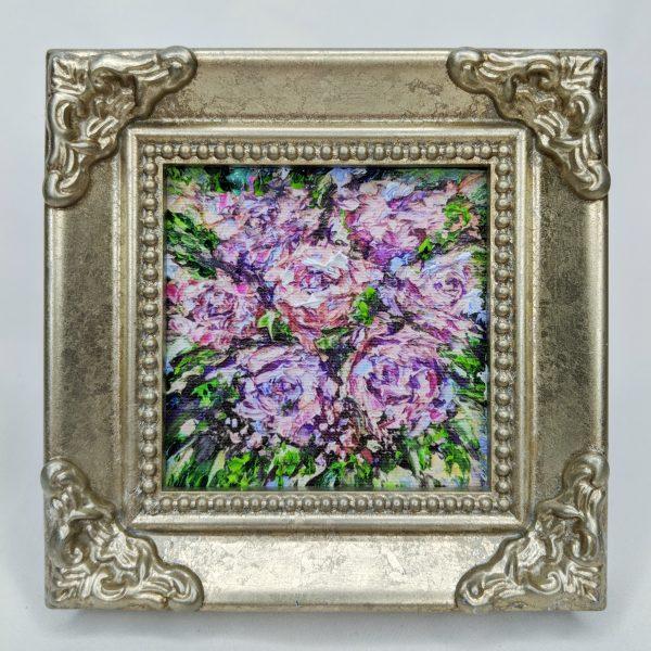 Floral bouquet miniature reproduction image